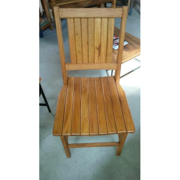 Cadeira Ana Hickman Em Madeira RÚstico De DemoliÇÃo