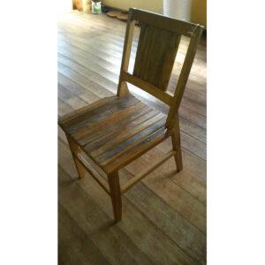 Cadeira Ana Hickman RÚstica Em Madeira RÚstico De DemoliÇÃo