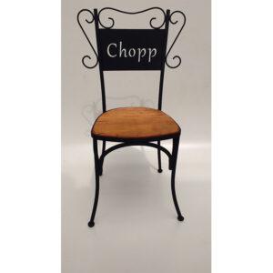 Cadeira Chopp Em Madeira RÚstico De DemoliÇÃo