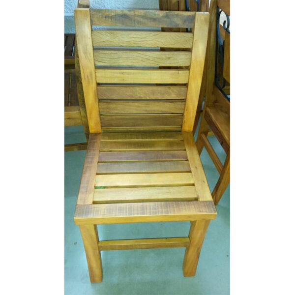 Cadeira GuarujÁ Em Madeira RÚstico De DemoliÇÃo