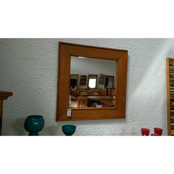 Espelho Semi RÚstico Em Madeira RÚstico De DemoliÇÃo