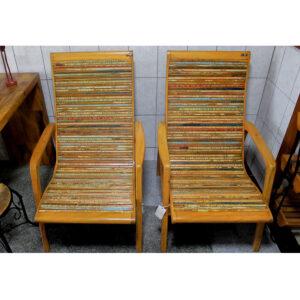 Cadeira Papai Em Madeira De DemoliÇÃo